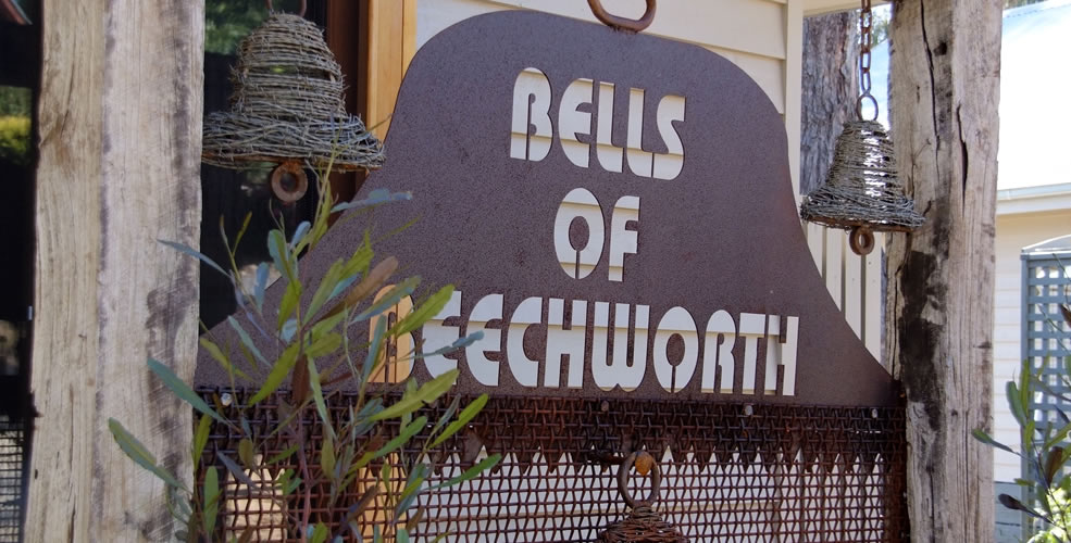 Bells of Beechworth Local Art Sculptures